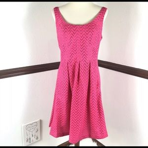 Nine West pink sleeveless pockets dress size 12
